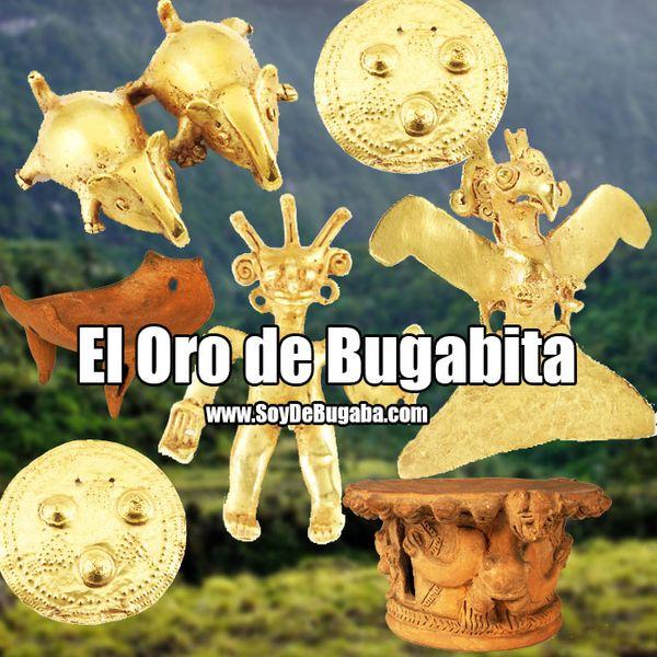 El oro de Bugabita y su inmensa riqueza