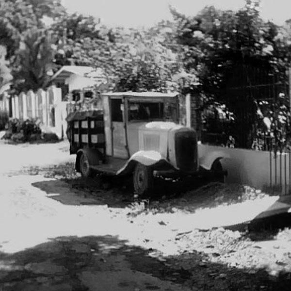 Los primeros vehículos en Bugaba