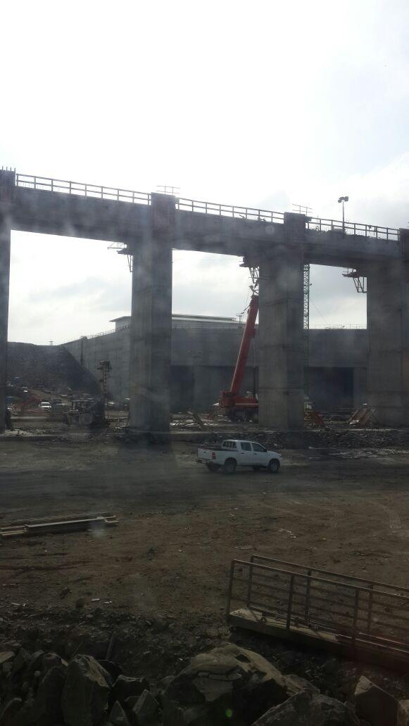 Recorrido por las esclusas de Cocolí, Ampliación del Canal de Panamá