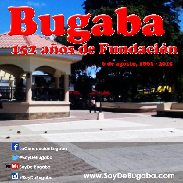 Actividades por fundación del distrito de Bugaba, 152 años