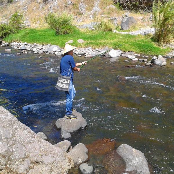 Pescando en Tierras altas