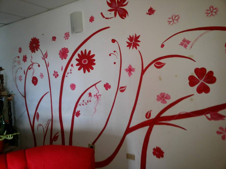pintura en pared-decoracino