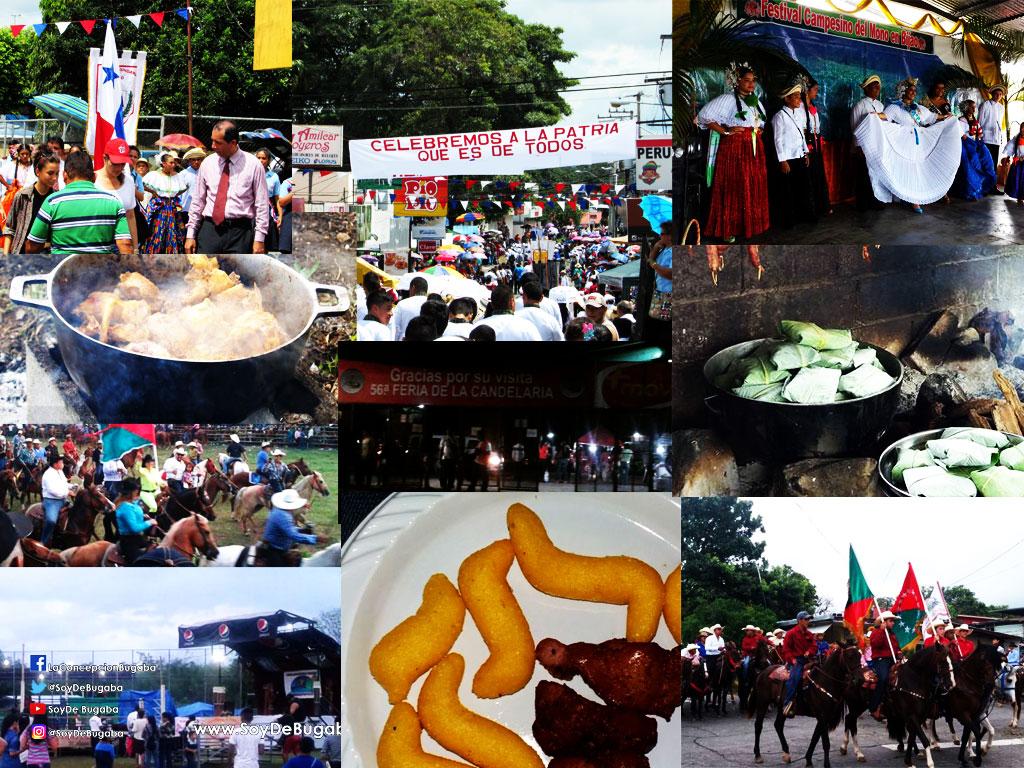 Calendario de festividades de todos los corregimientos en el distrito de Bugaba, Chiriquí, Panama
